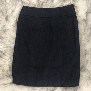 Ann Taylor Loft - Petites Dark Blue Skirt